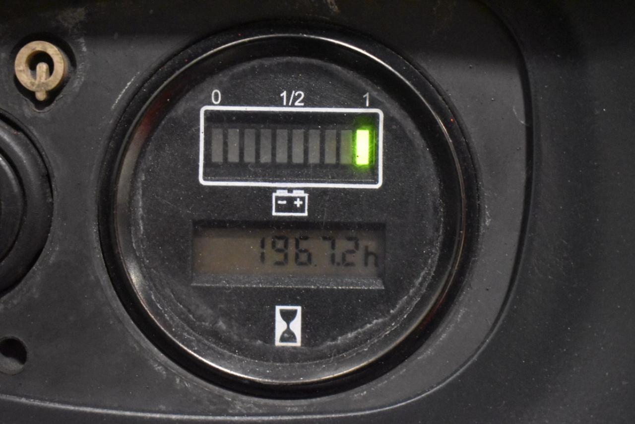 33772 LINDE L 14 I - Battery, 2007, Free lift + initial lift, TRIPLEX, only 1966 hrs, BATT 2015