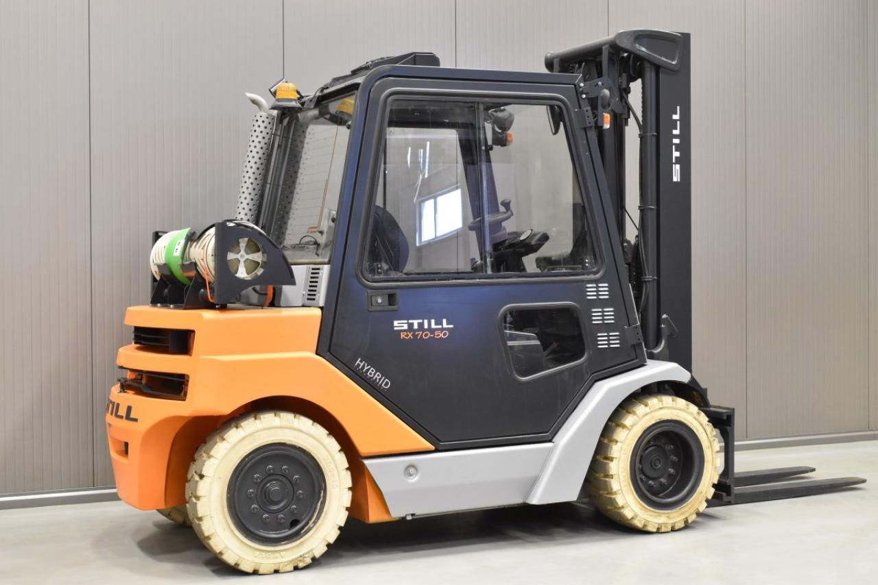 33811 STILL R 70-50 T - LPG, 2012, Kabina, BP, Volný zdvih, Triplex