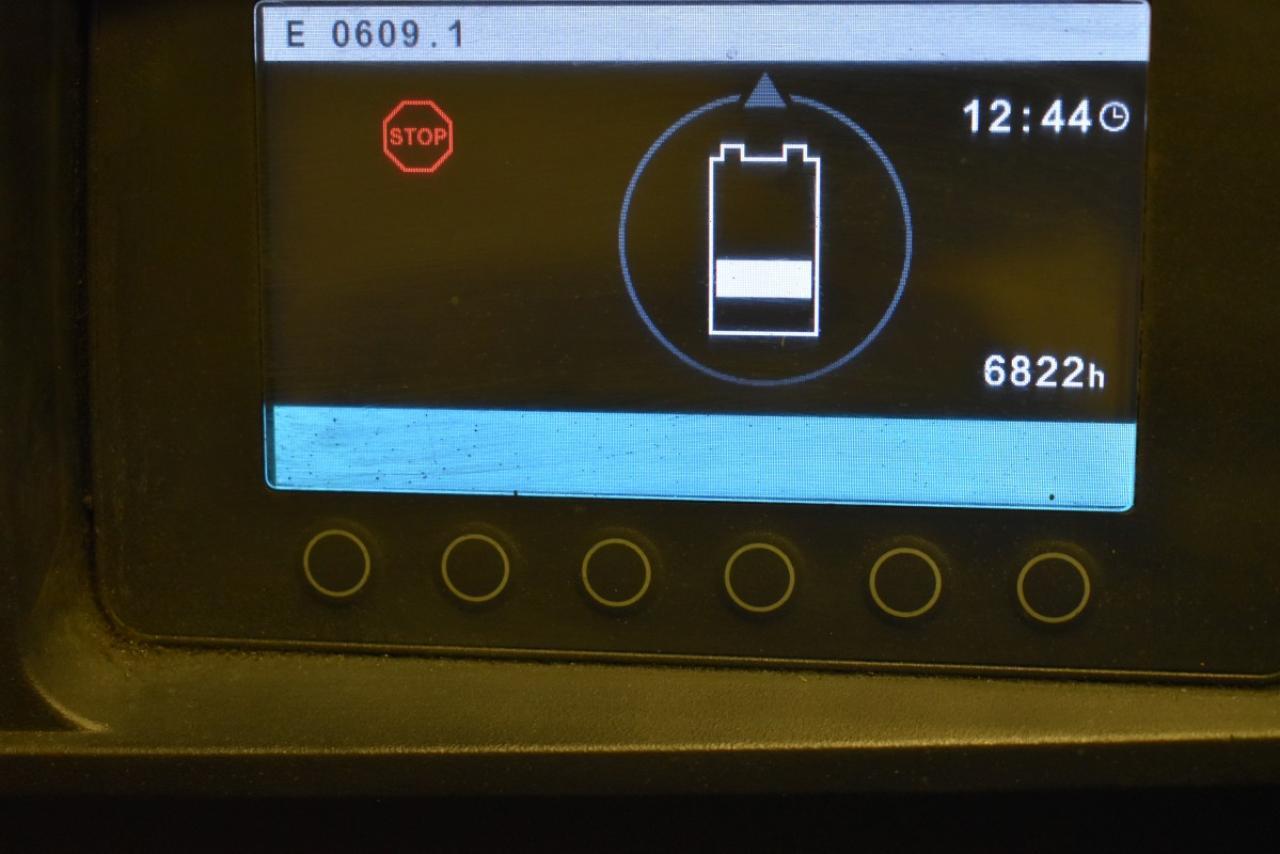 33853 JUNGHEINRICH EFG 430 - Battery, 2015, SS, only 6820 hrs