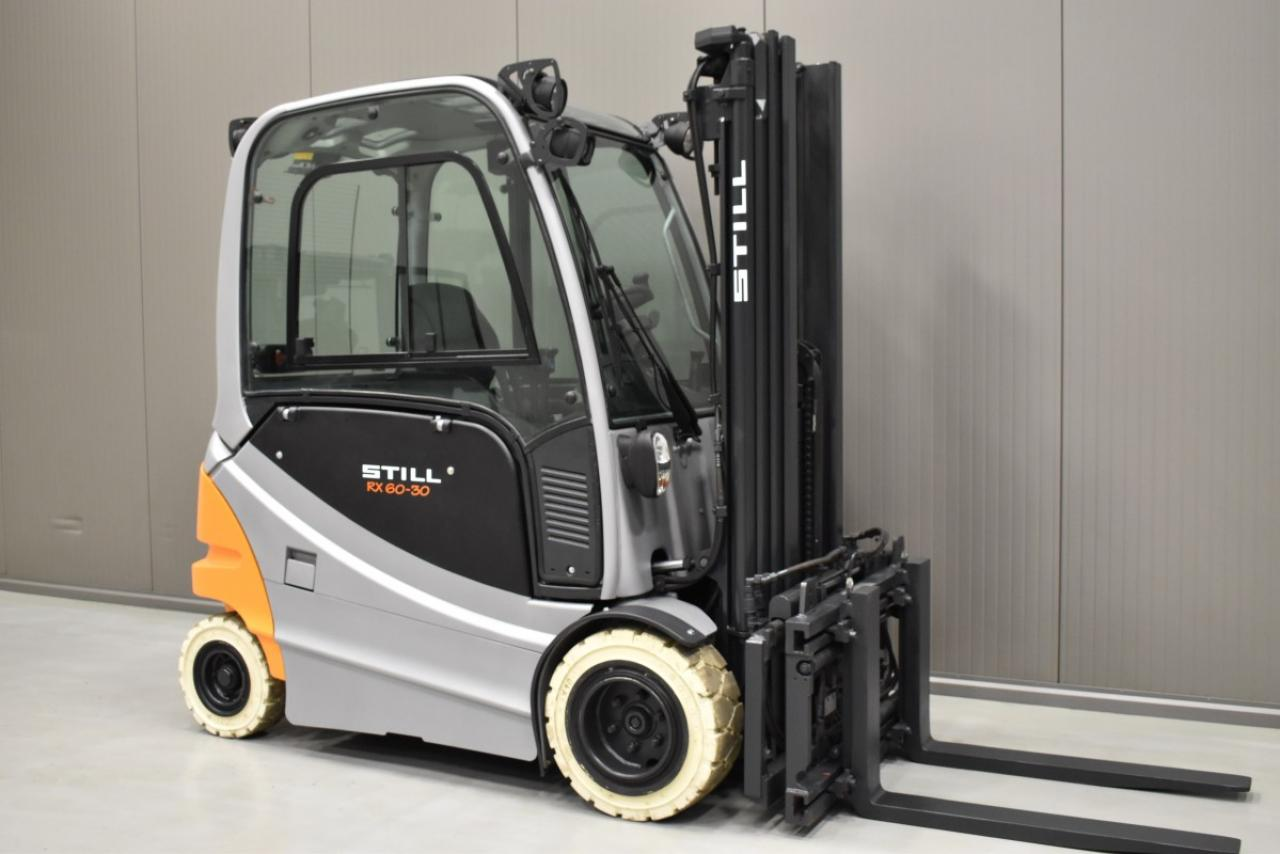 34000 STILL RX 60-30 - Battery, 2012, Cabin, SS+FP, Free lift, TRIPLEX