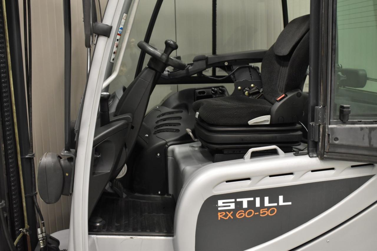 34116 STILL RX 60-50 - AKU, 2013, zvýšená kabina, BP