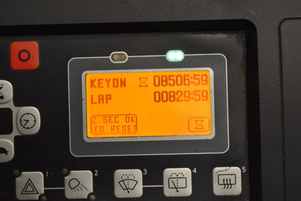 34182 TOYOTA 8FBMKT25 - Battery, 2014, FP, only 6533 hrs