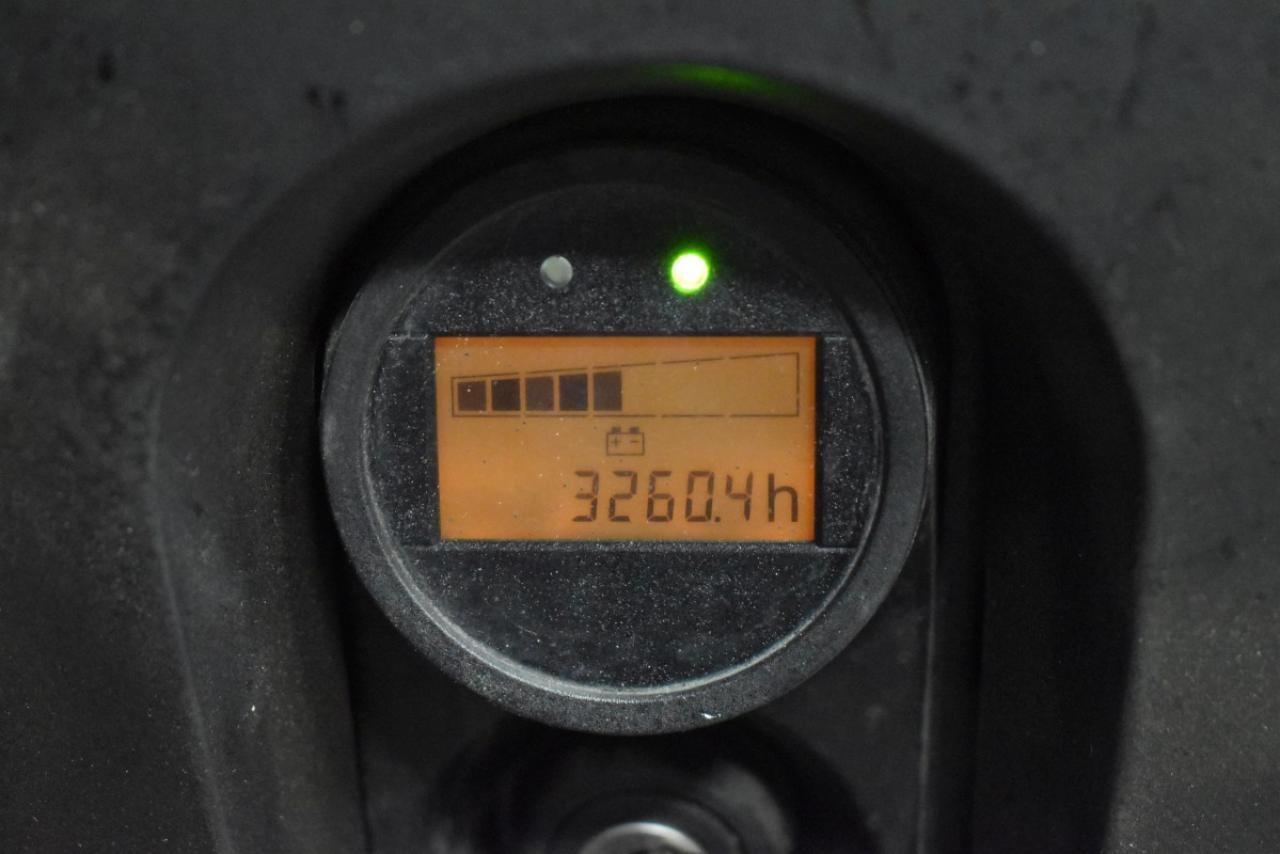 34199 STILL EXV 10 BASIC - AKU, 2015, pouze 3260 mth