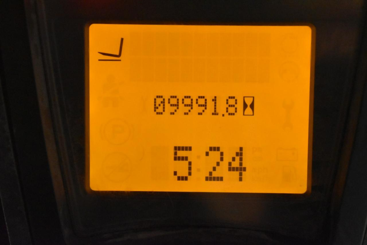 34218 LINDE H 35 T-01 - LPG, 2012, Kabina, BP+HSV, Volný zdvih, Triplex