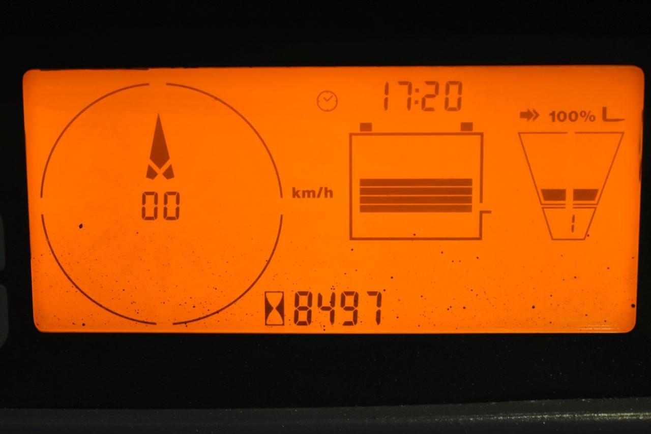 34249 JUNGHEINRICH EFG 216 K - AKU, 2012, BP, Volný zdvih, Triplex