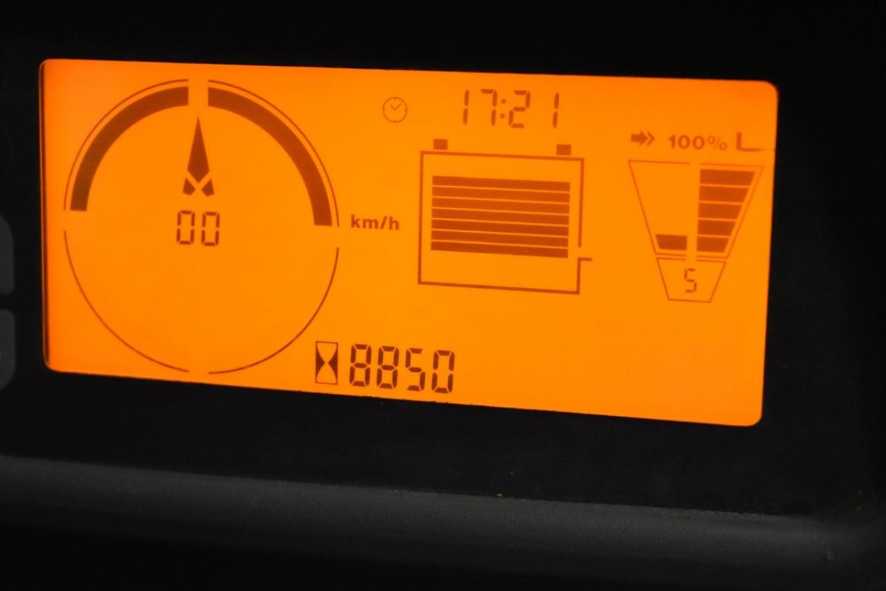 34298 JUNGHEINRICH EFG 216 K - Battery, 2011, semi-cabin, SS+FP