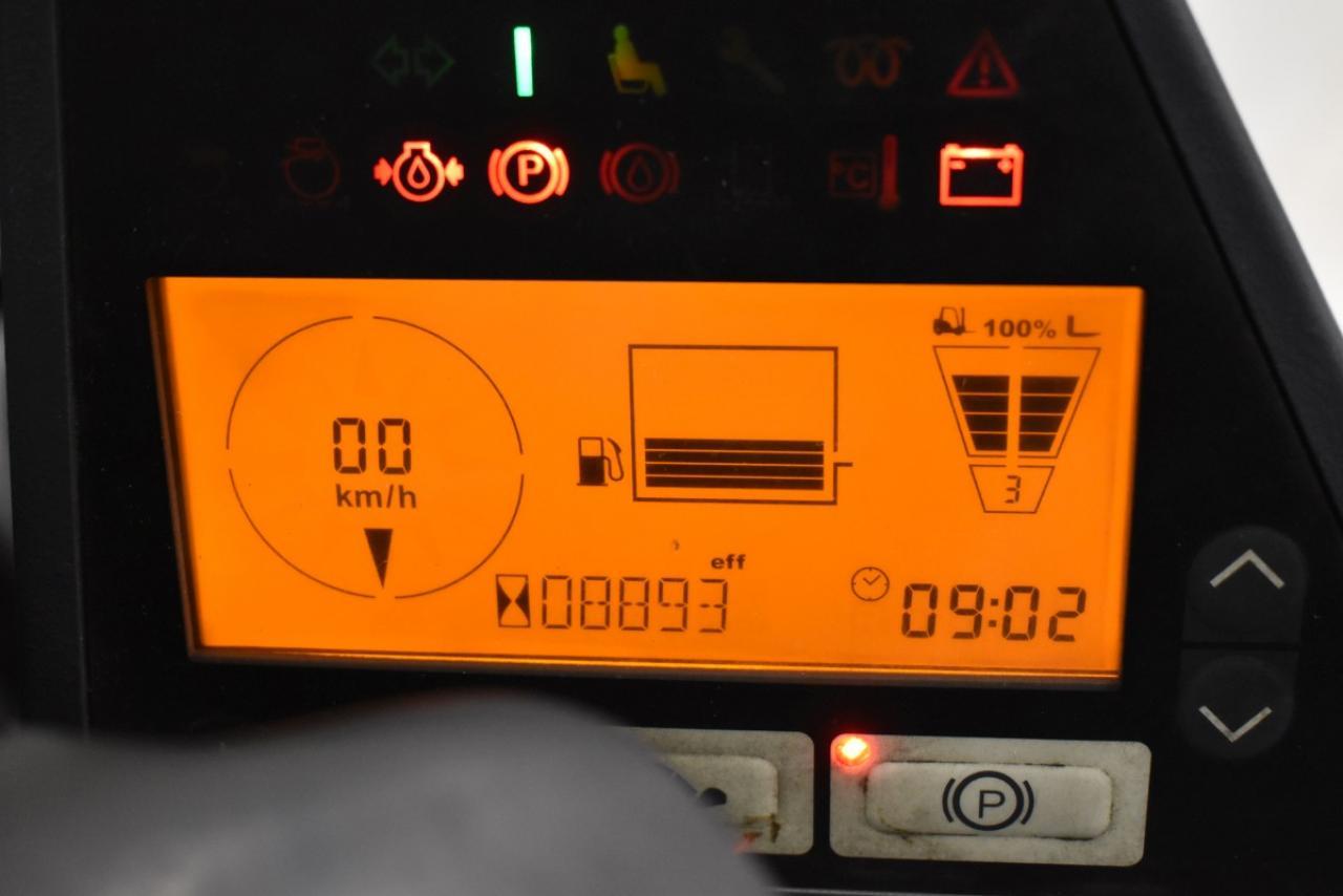 34300 JUNGHEINRICH DFG 430 S - Diesel, 2013, polokabina, BP