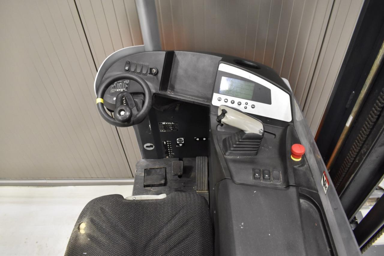 34320 STILL FM-X 14 - Battery, Reach truck, 2011, SS, Free lift, TRIPLEX, only 5525 hrs