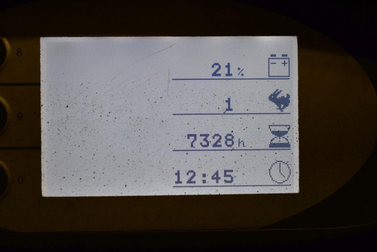 34326 STILL RX 20-20 P - AKU, 2014, BP, Volný zdvih, Triplex, pouze 7327 mth, BAT 2015