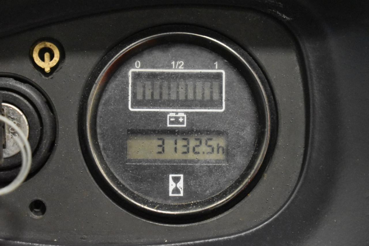 34330 LINDE L 16 - AKU, 2007, Volný zdvih + přízdvih, Triplex, pouze 3060 mth