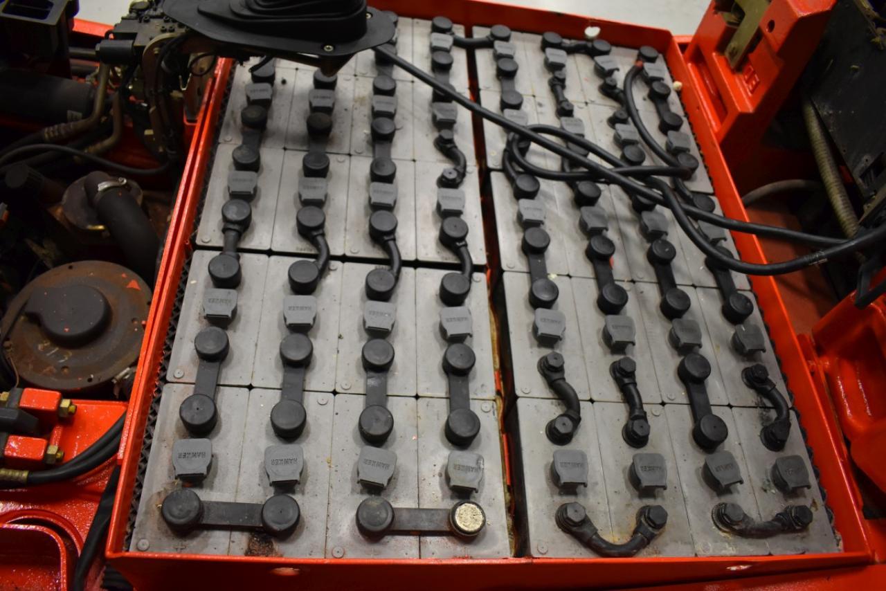 34351 LINDE E 25 - AKU, 2011, BP, Volný zdvih, Triplex, pouze 1957 mth