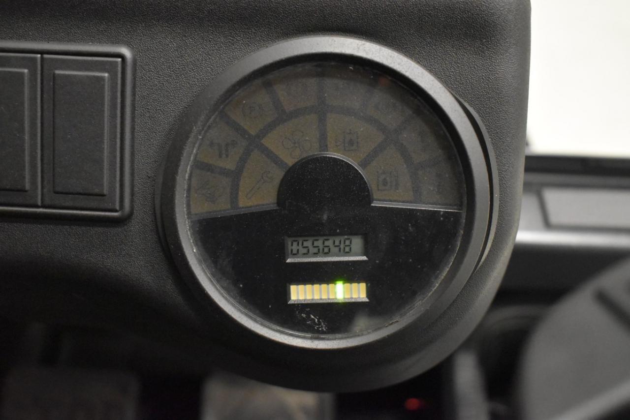 34364 LINDE E 25 - AKU, 2011, Volný zdvih, Triplex, pouze 5563 mth
