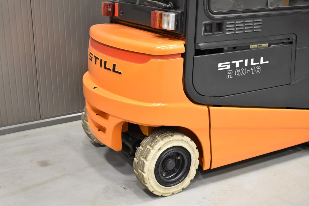 34441 STILL R 60-16 I - Battery, 2003, Cabin, SS, Free lift, TRIPLEX, only 2504 hrs, BATT 2011