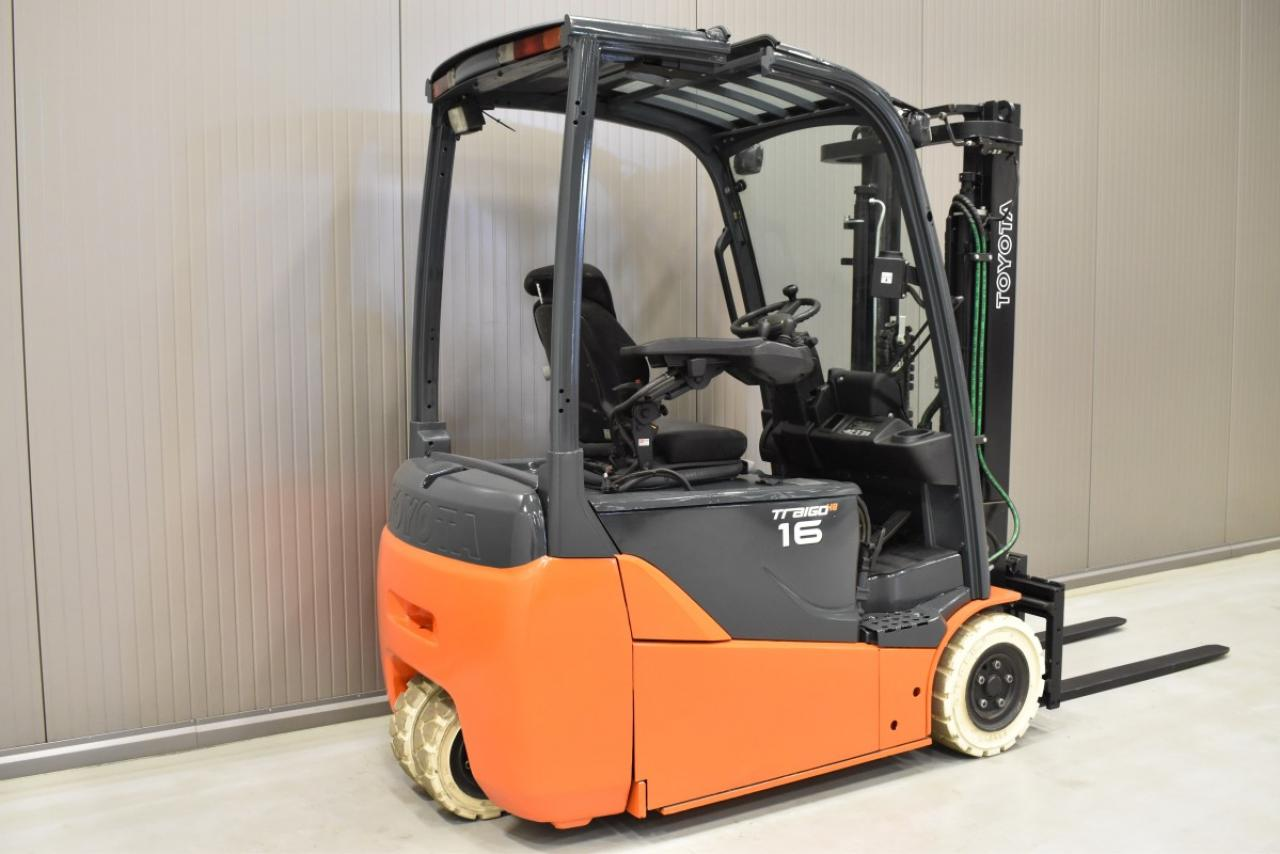 34458 TOYOTA 8FBET16 - Battery, 2013, SS, Free lift, only 598 hrs
