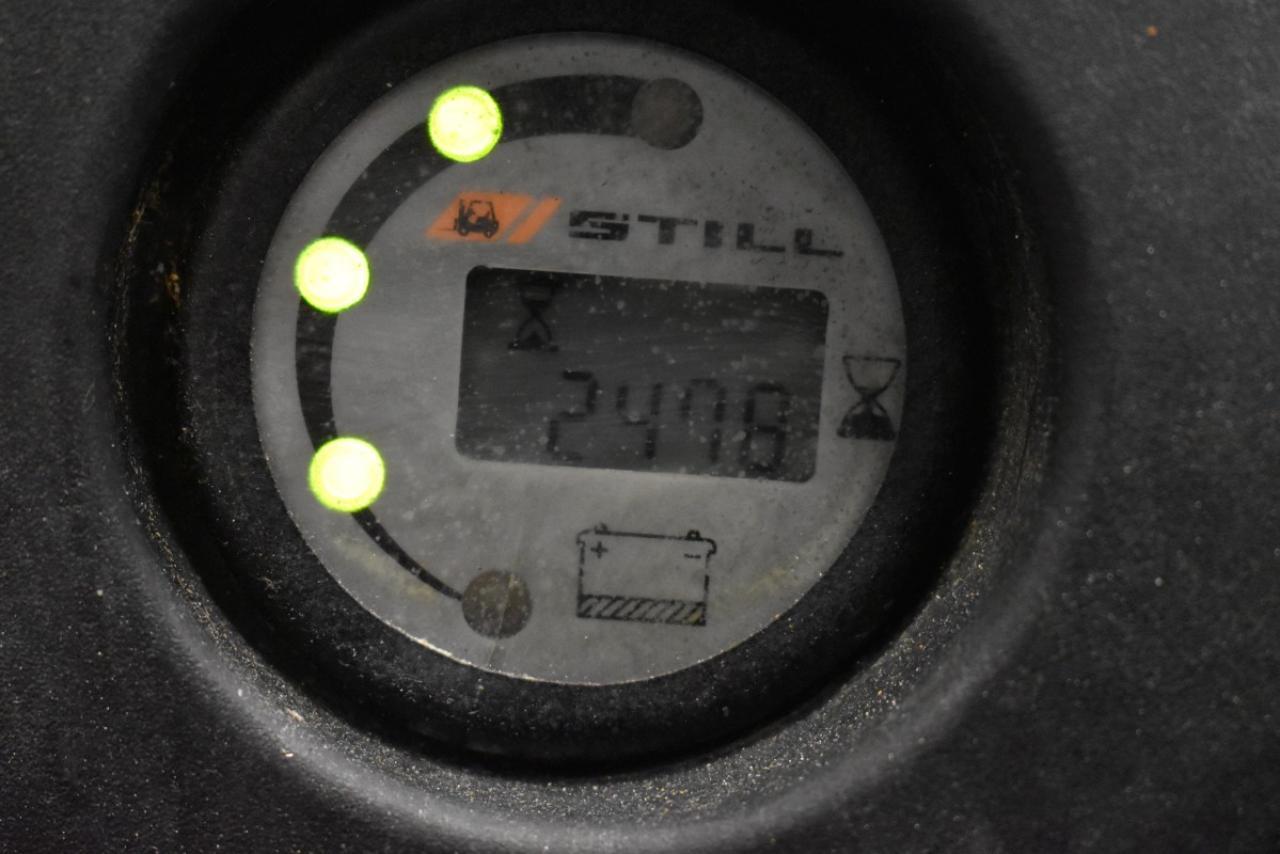 34480 STILL EGV 16 - AKU, 2014, pouze 2478 mth