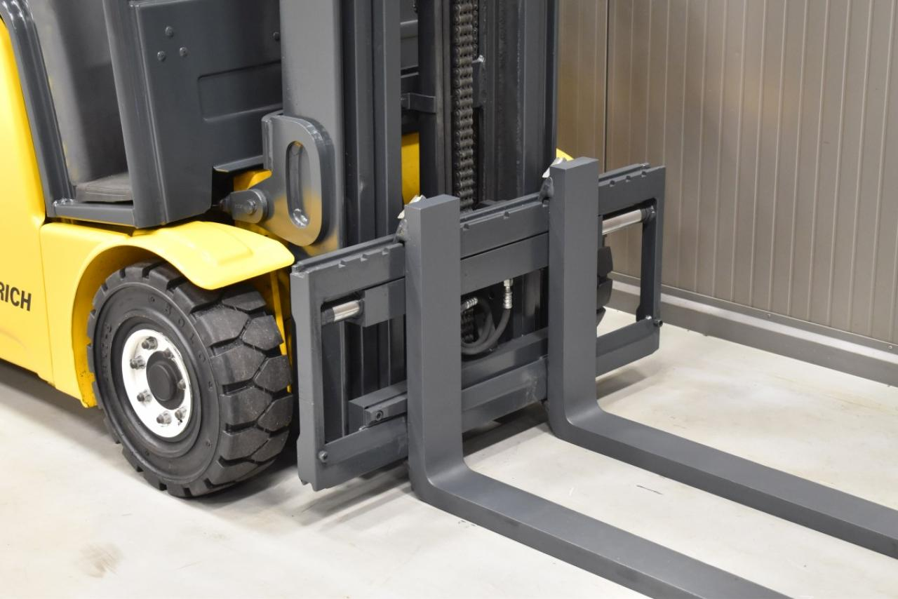 34508 JUNGHEINRICH EFG 213 - Battery, 2014, SS, Free lift, TRIPLEX