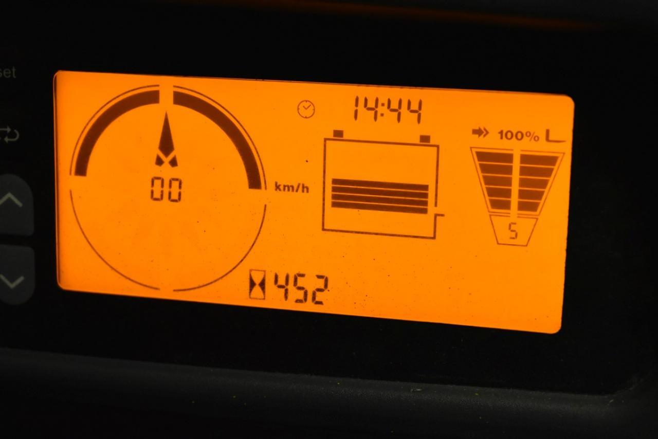 34511 JUNGHEINRICH EFG 316 k - Battery, 2012, SS, only 451 hrs