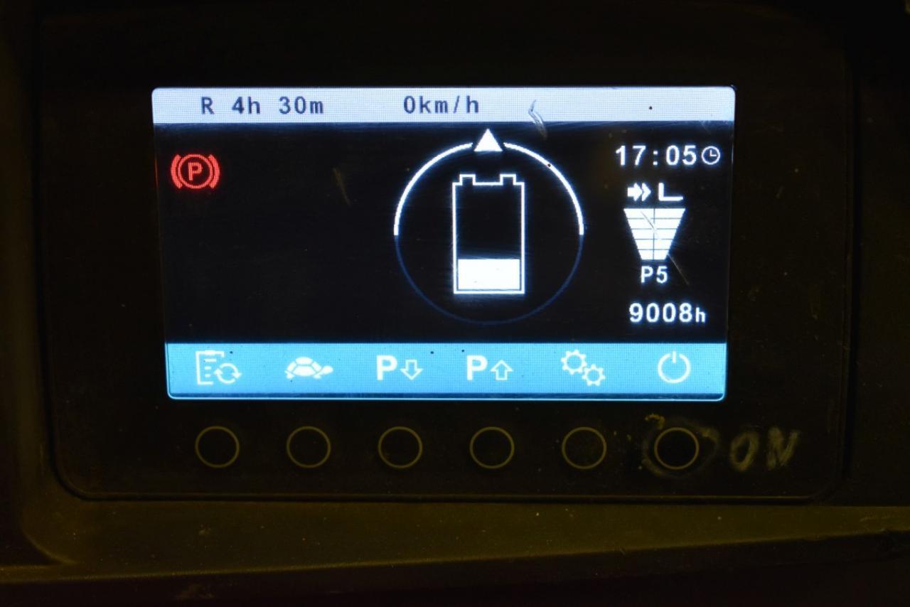 34513 JUNGHEINRICH EFG 216 - Battery, 2017, SS, Free lift