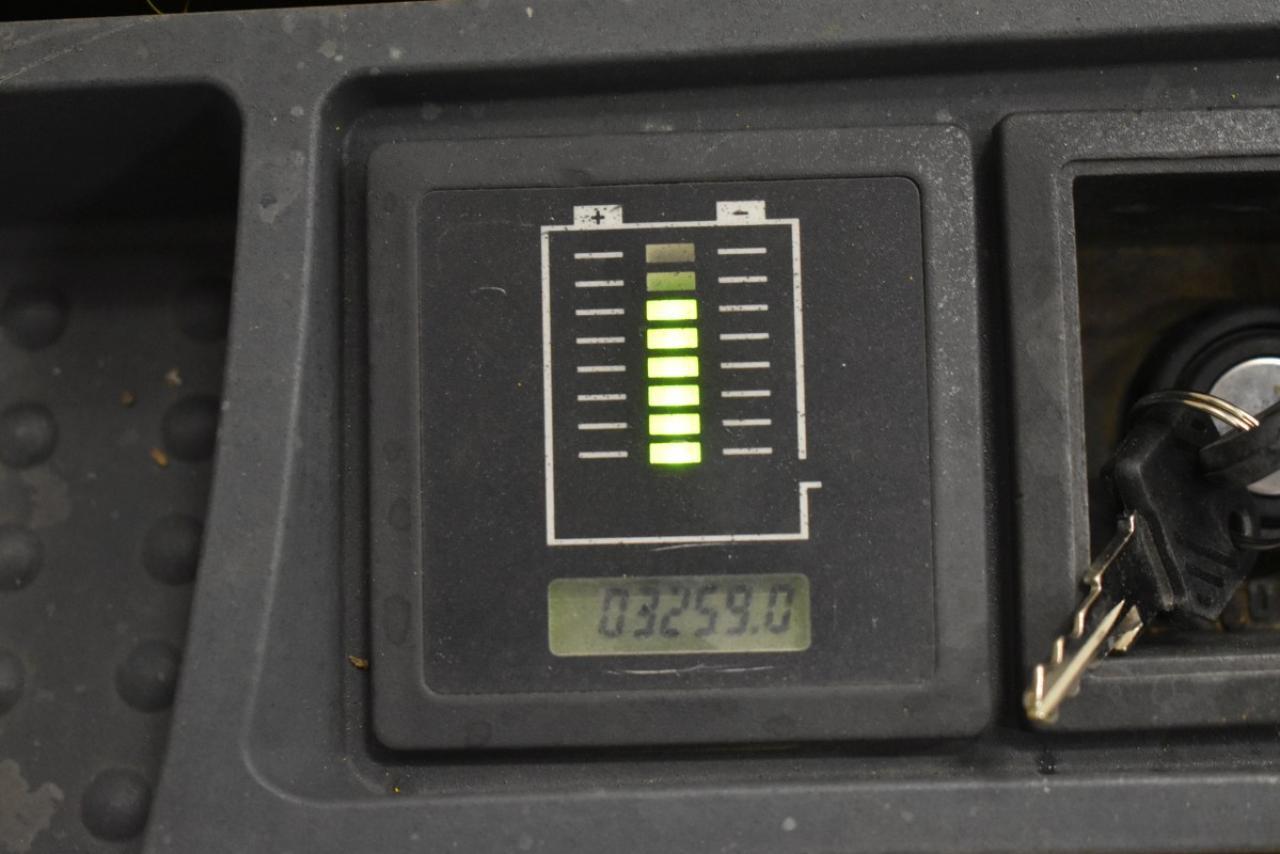34571 JUNGHEINRICH EJC 110 - Battery, 2014, only 3259 hrs