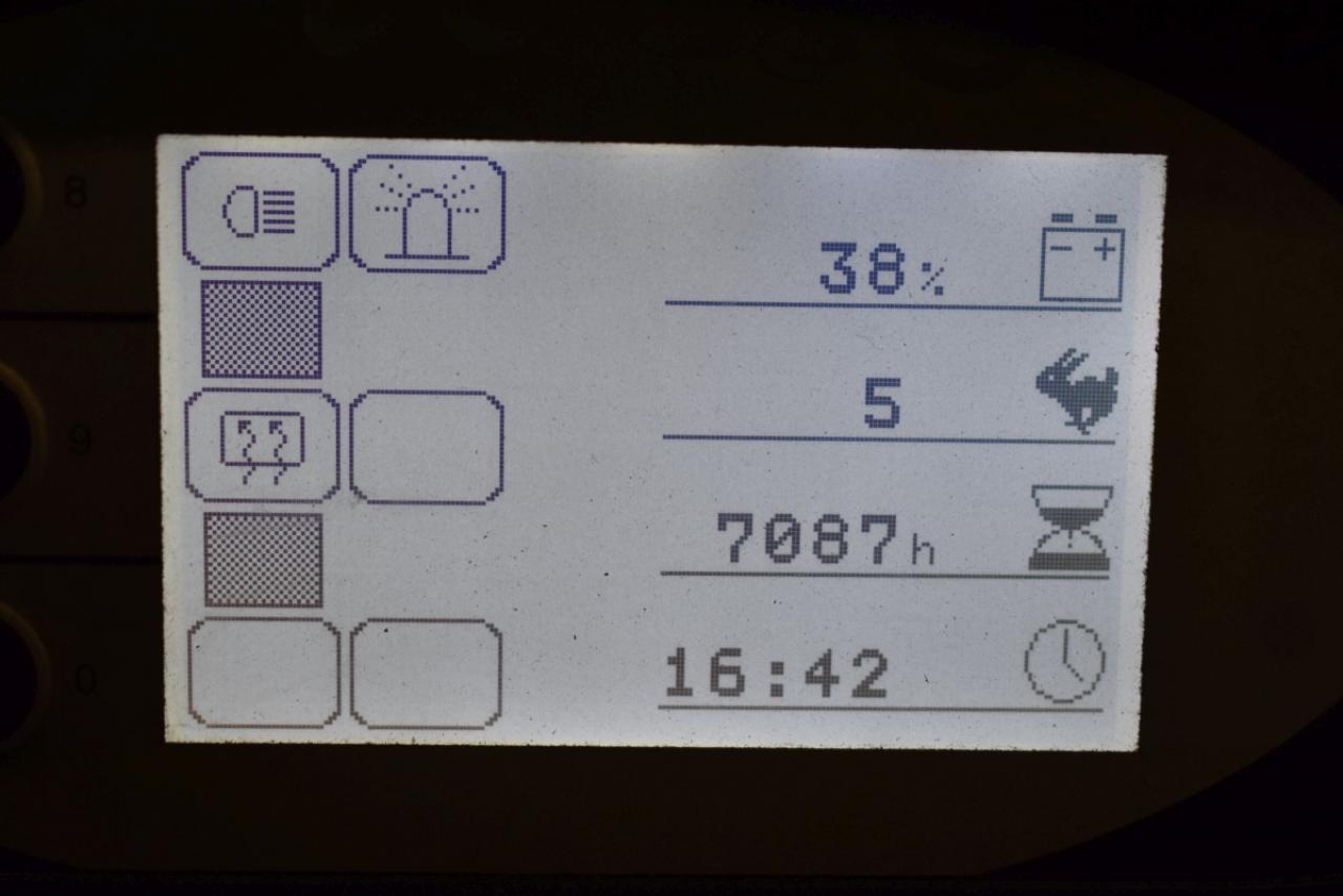 34579 STILL RX 60-45 - AKU, 2010, Kabina, BP+HSV, Volný zdvih, Triplex, pouze 7086 mth