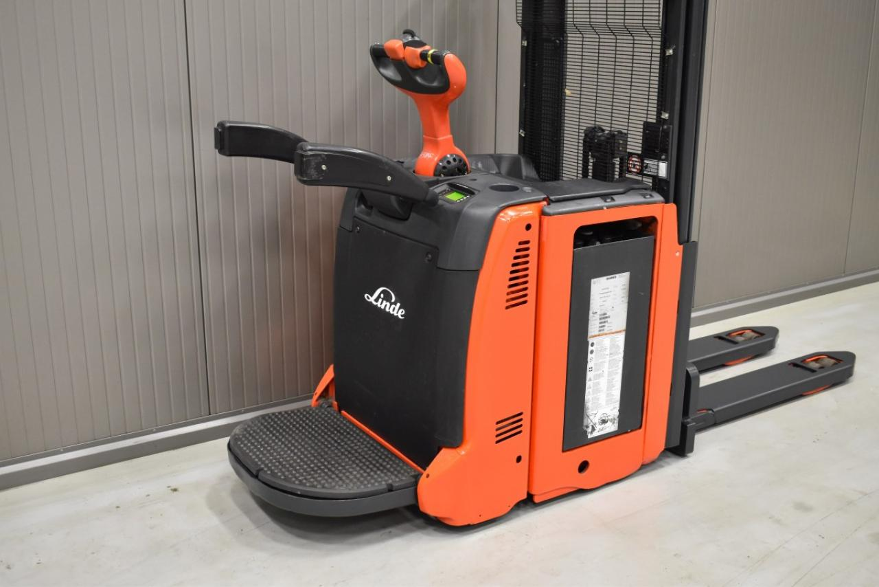 34589 LINDE L 12 LAP - Battery, 2015, Free lift + initial lift, only 4837 hrs