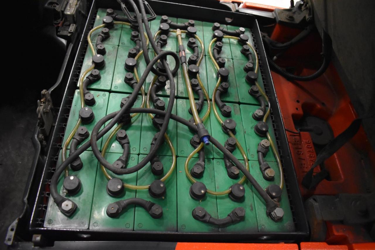 34609 LINDE E 16-02 - Battery, 2015, SS, Free lift