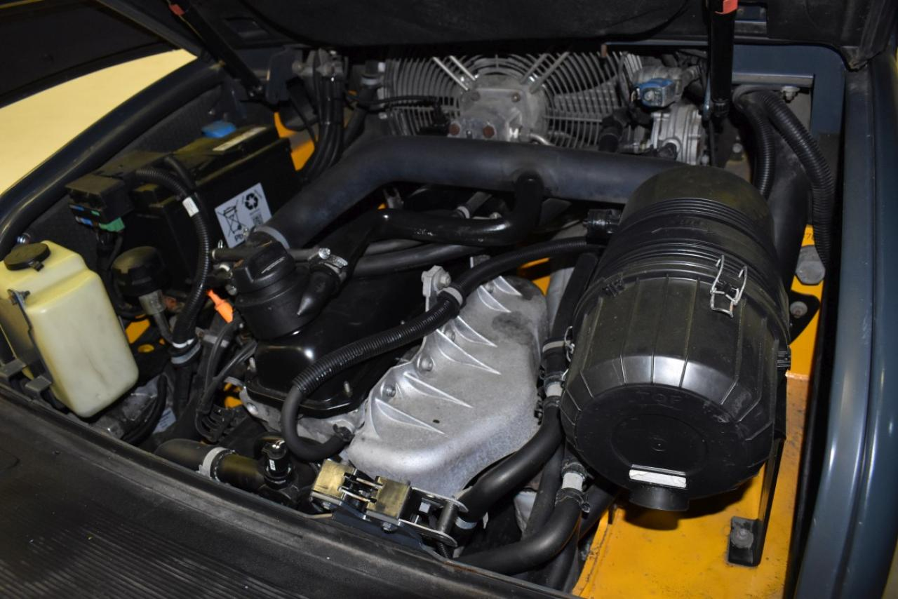 34715 JUNGHEINRICH TFG 425s - LPG, 2008, Kabina, BP, pouze 3142 mth,  ZADÁNO