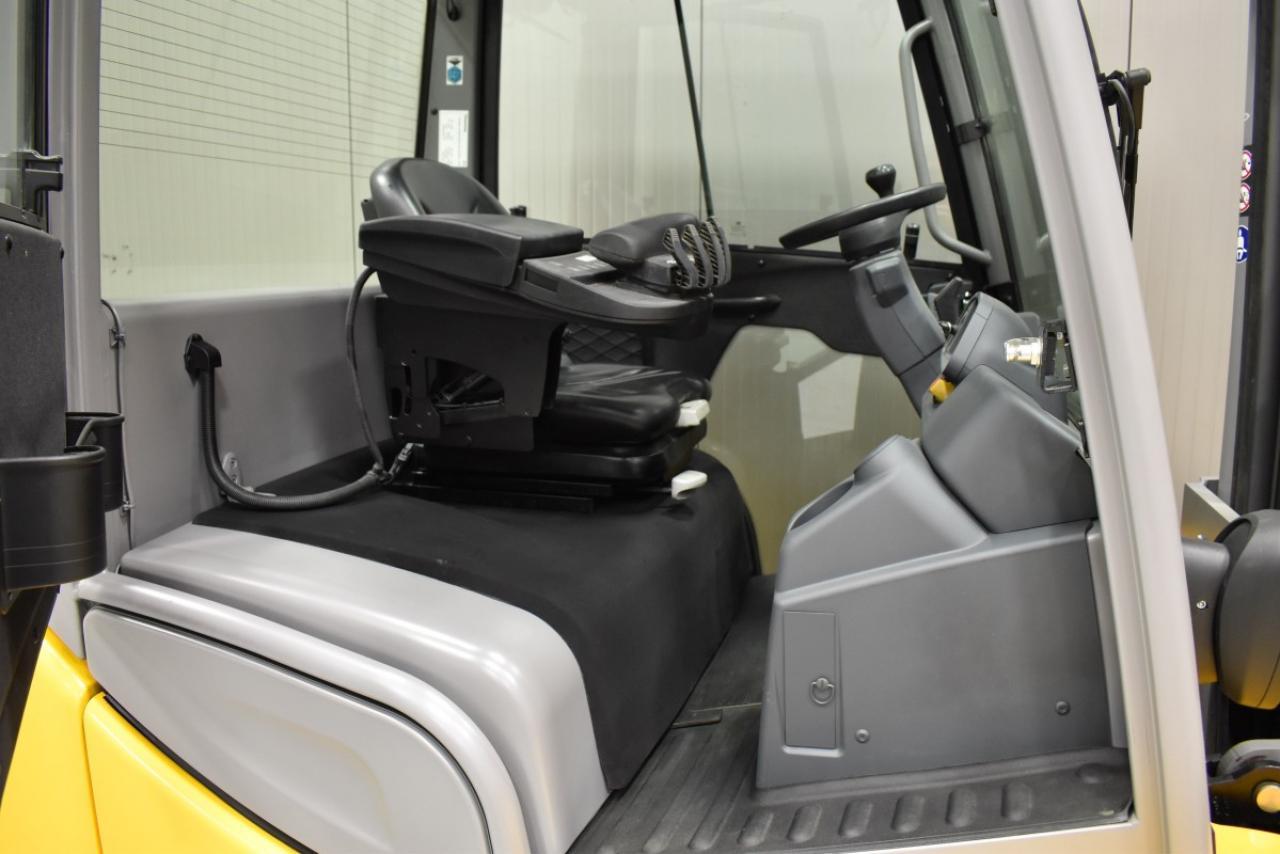 34797 JUNGHEINRICH DFG S50s - Diesel, 2018, Cabin, SS+FP, Free lift, TRIPLEX, only 2196 hrs