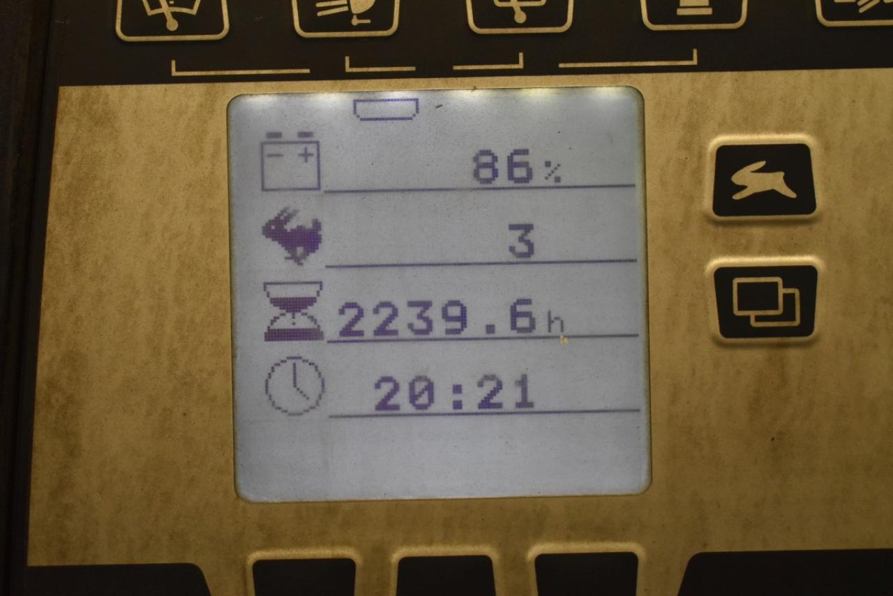 34827 STILL RX 20-20 - AKU, 2007, BP, Volný zdvih, Triplex, pouze 2239 mth, BAT 2014