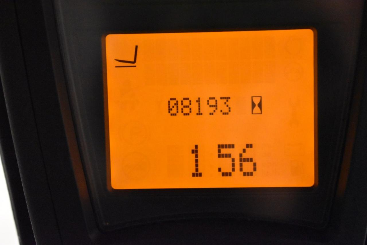 35189 LINDE E 16-01 - Battery, 2013, SS, Free lift, TRIPLEX