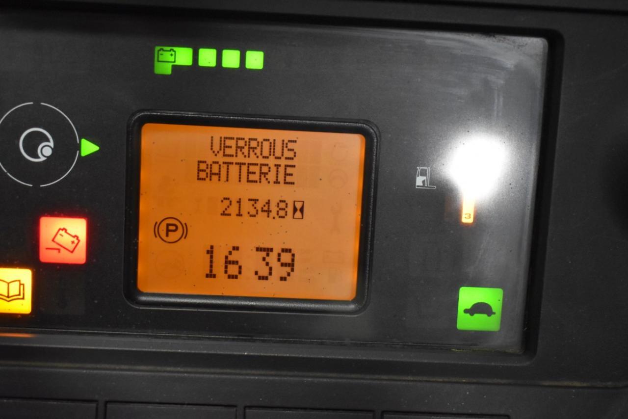 35293 LINDE R 20-01 - Battery, Reach truck, 2017, SS, Free lift, TRIPLEX, only 2134 hrs