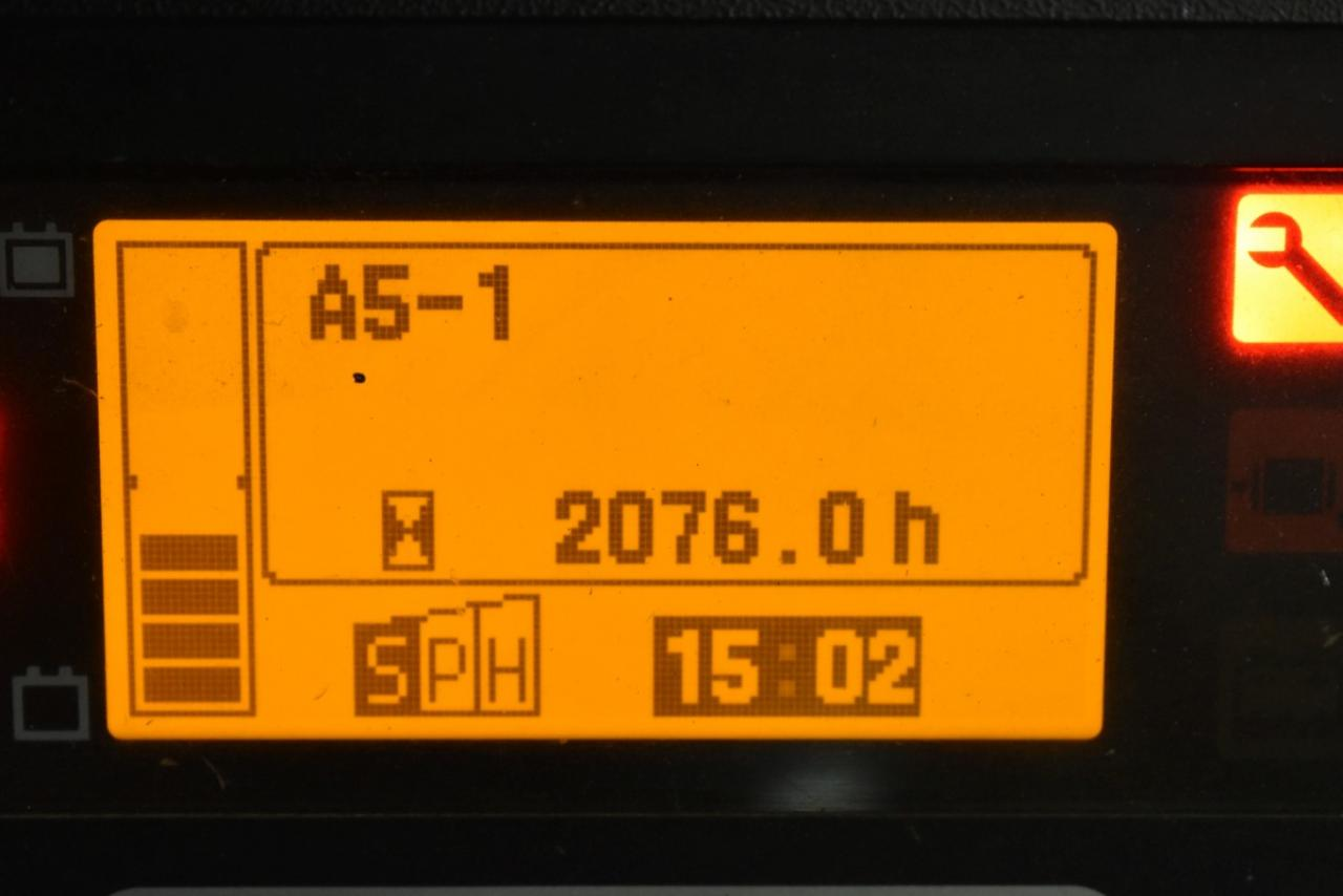 35386 TOYOTA 8FBMT16 - Battery, 2012, Cabin, SS, only 1016 hrs