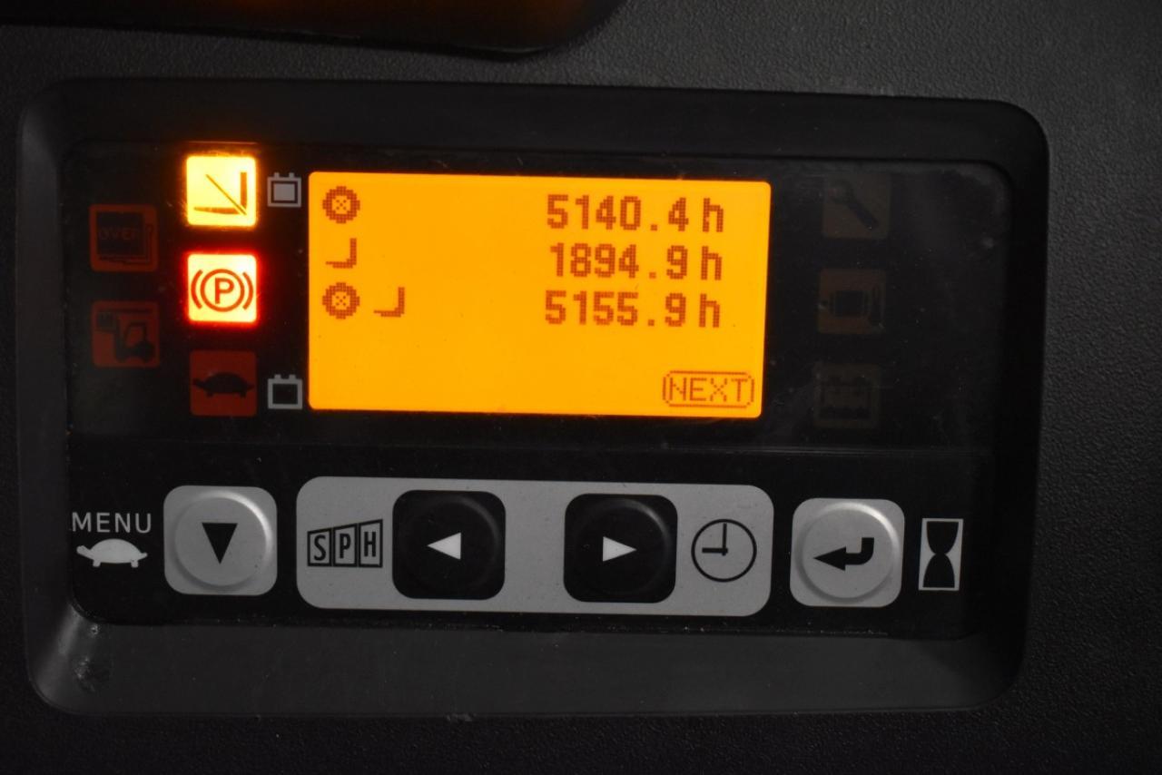 35387 TOYOTA 8FBMT15 - AKU, 2014, Kabina, BP+HSV, pouze 5153 mth
