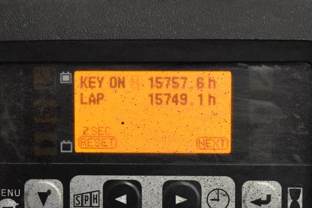 35389 TOYOTA 8FBET18 - AKU, 2010, BP, Volný zdvih, pouze 7546 mth