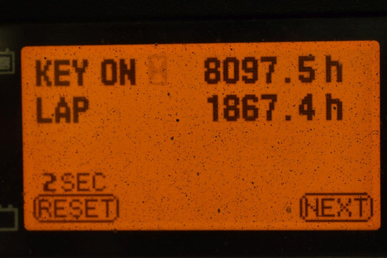 35451 TOYOTA 8FBMT16 - AKU, 2015, BP, Volný zdvih, Triplex, pouze 8093 mth