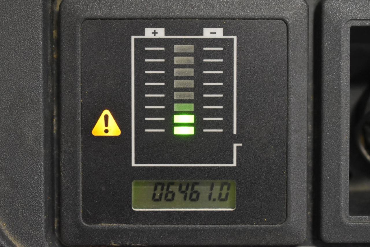 35590 JUNGHEINRICH ERC 212 - AKU, 2012, Volný zdvih
