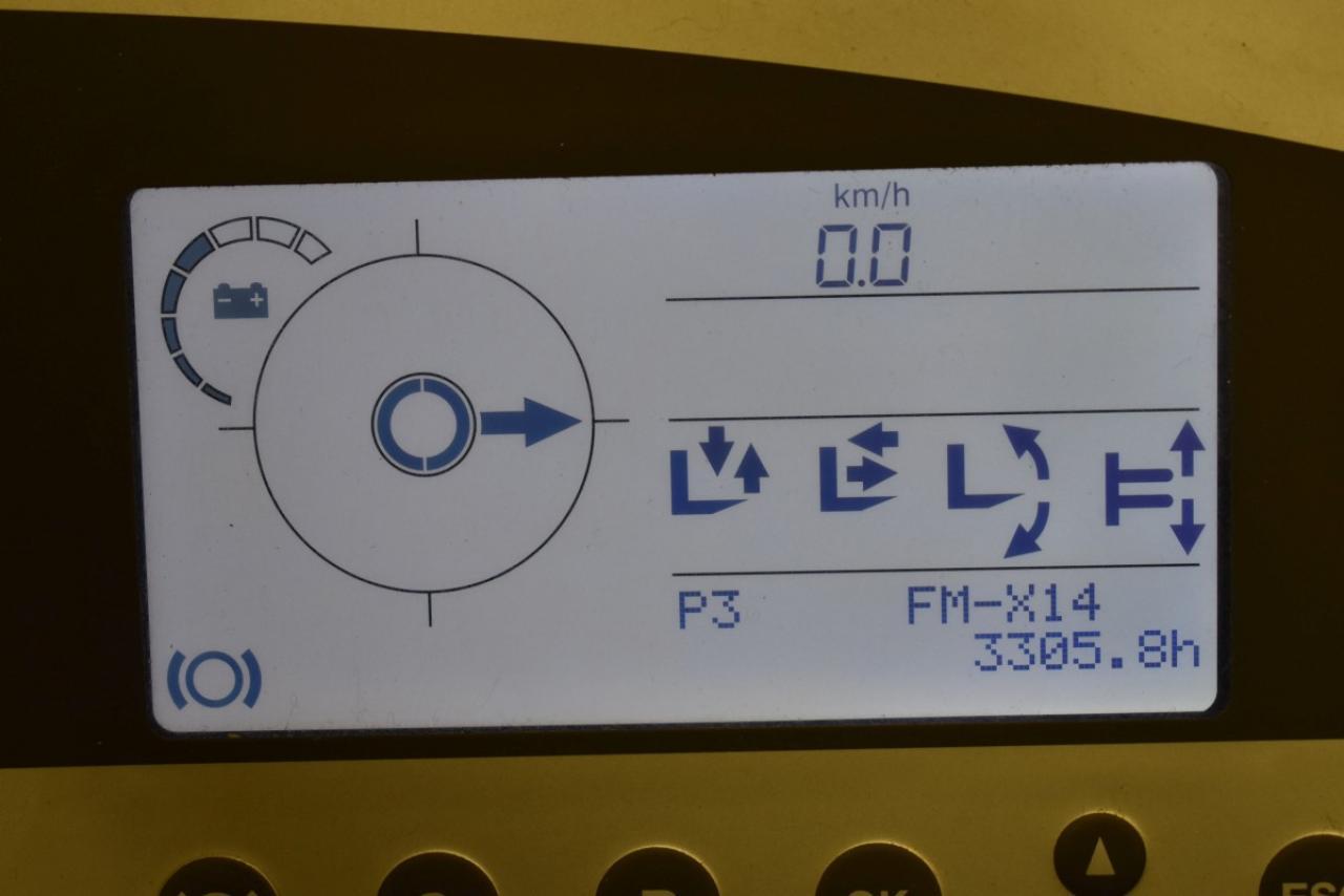 36229 STILL FM-X 14 - AKU, Retrak, 2009, BP, Volný zdvih, Triplex, pouze 3305 mth