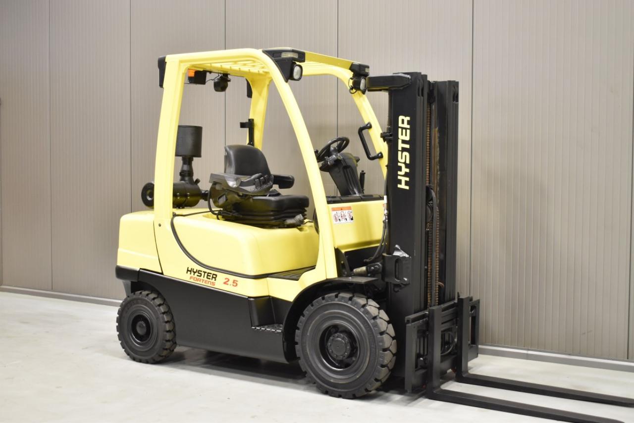 36291 HYSTER H 2.5 FT - Diesel, 2012, BP, Volný zdvih, Triplex