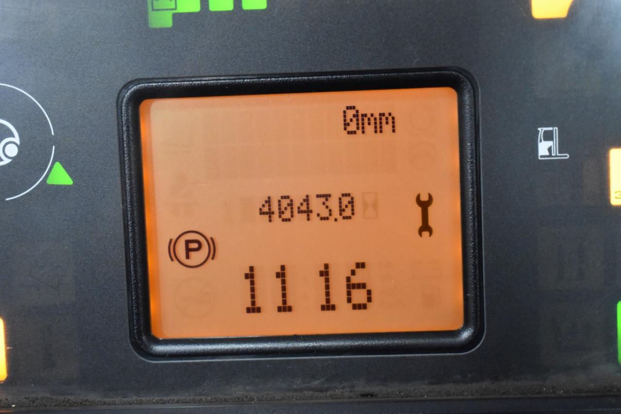 36318 LINDE R 16 HD-01 - AKU, Retrak, 2016, BP, Volný zdvih, Triplex, pouze 4042 mth