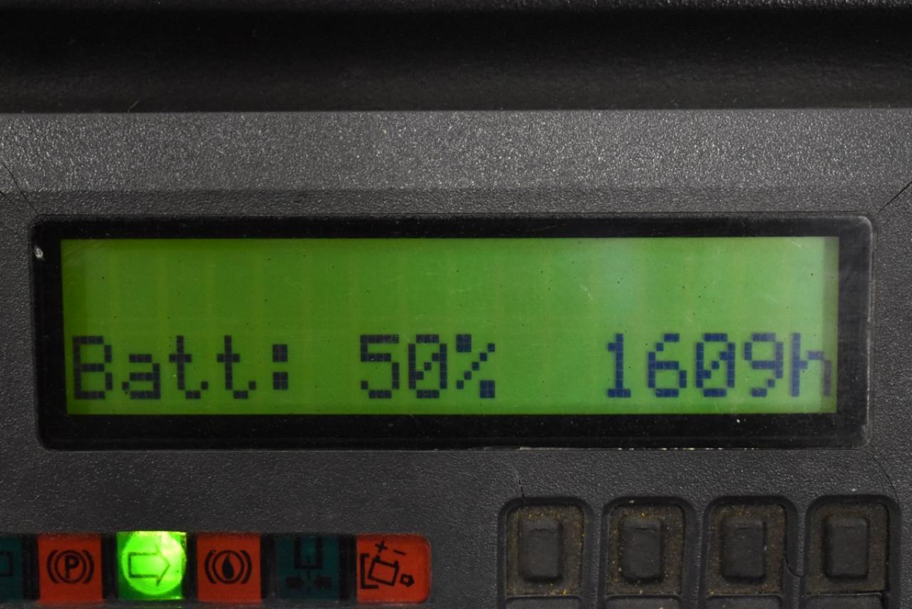 36438 JUNGHEINRICH ETV C 16 - AKU, Retrak, 2007, BP, Volný zdvih, Triplex, pouze 1608 mth