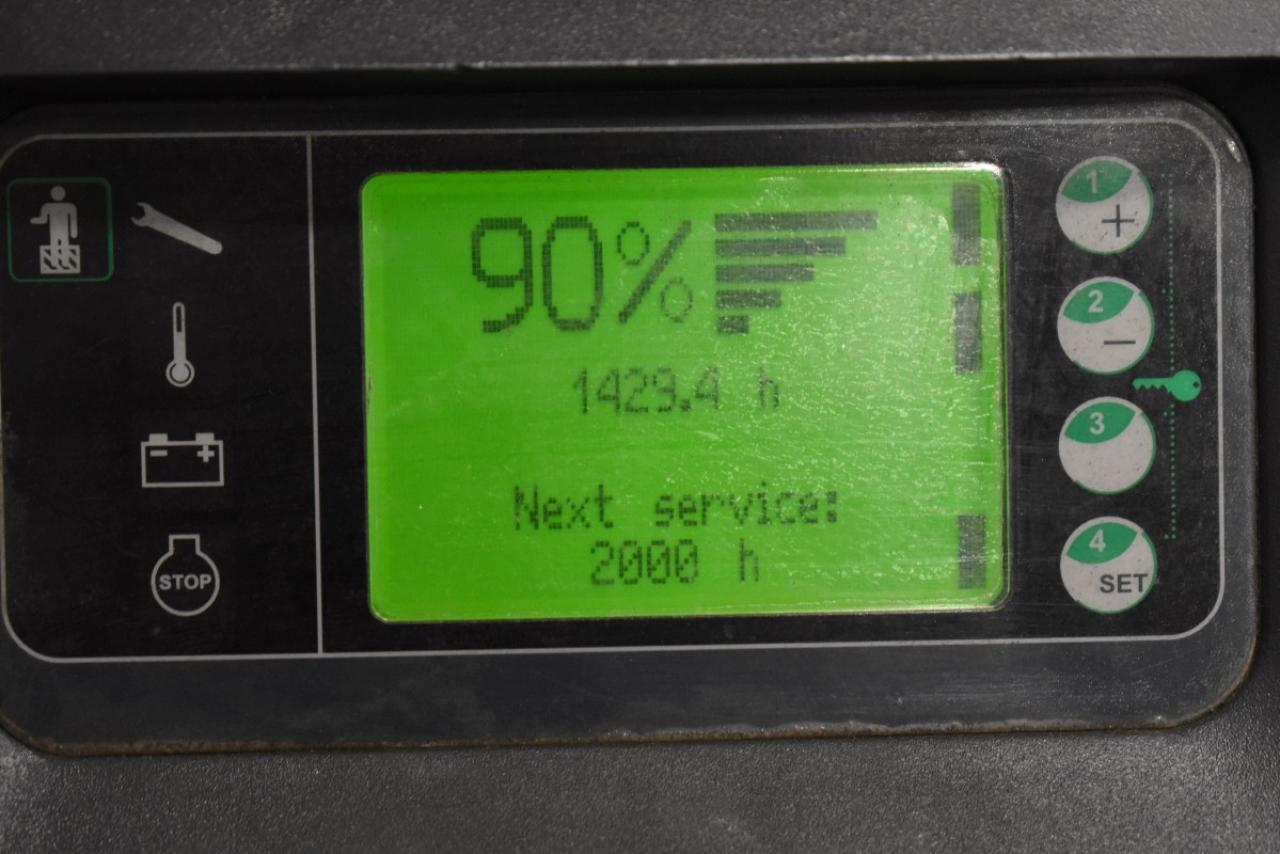 36456 LINDE L 12 L - AKU, 2013, přízdvih, pouze 1428 mth