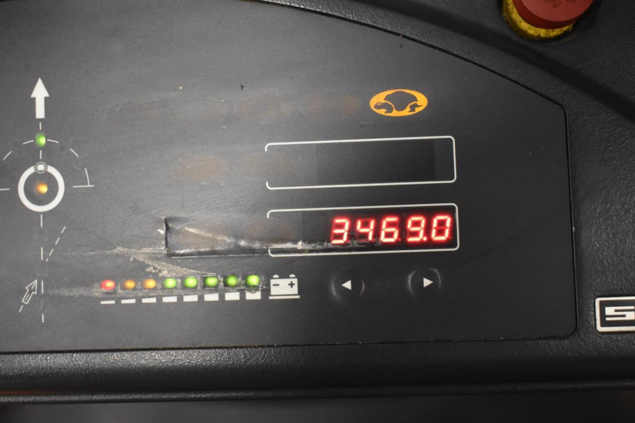 36697 STILL EK 12 - AKU, 2013, Volný zdvih, Triplex, pouze 3468 mth