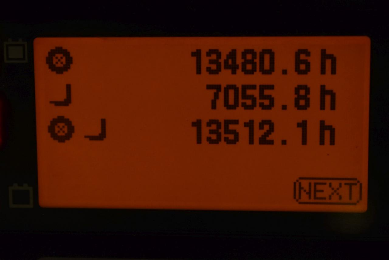 36832 TOYOTA 8FBMT16 - AKU, 2015, BP, Volný zdvih