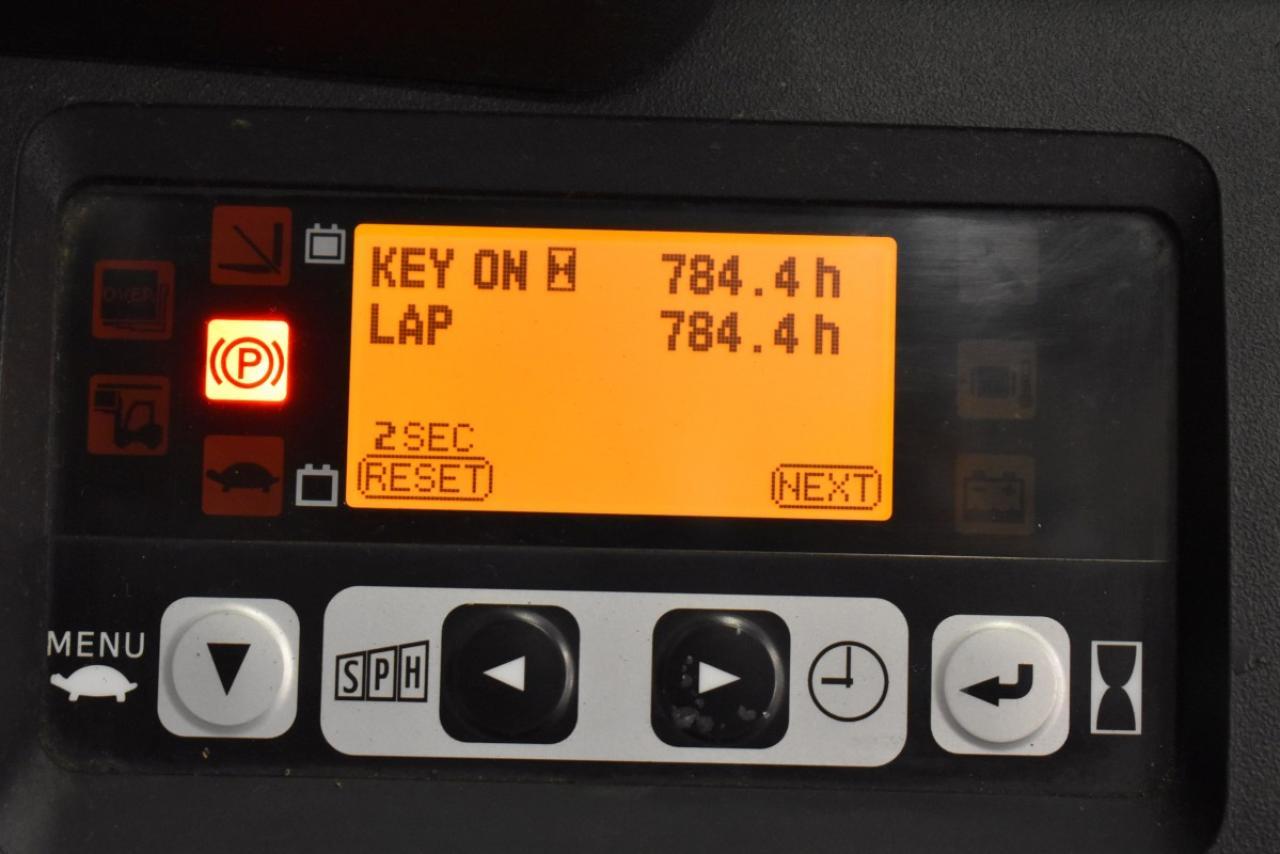 37569 TOYOTA 8FBET16 - AKU, 2013, BP, Volný zdvih, zánovní - 601 mth, pouze 601 mth,  ZADÁNO