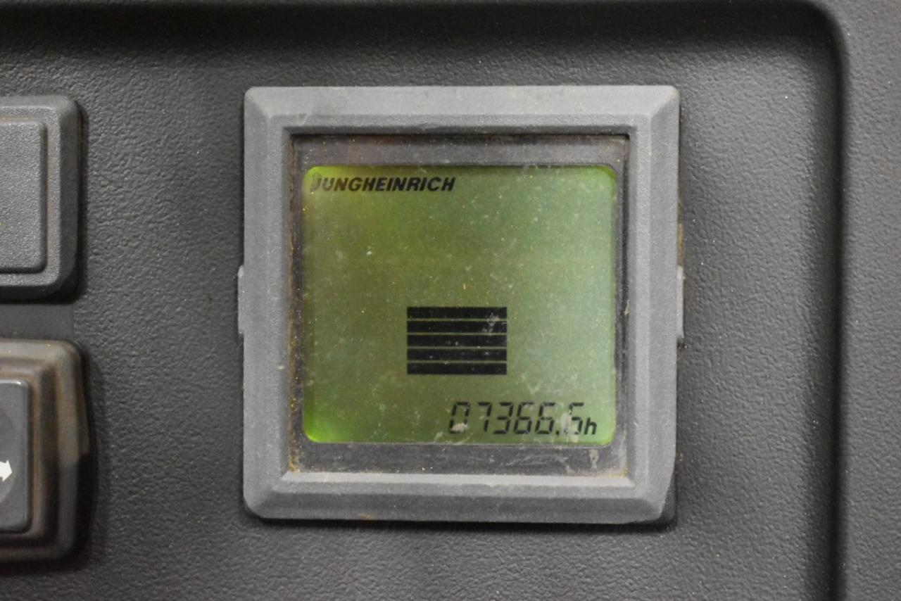 V19381 JUNGHEINRICH ETV 14 G - AKU, Retrak, 1998, BP, Volný zdvih, Triplex