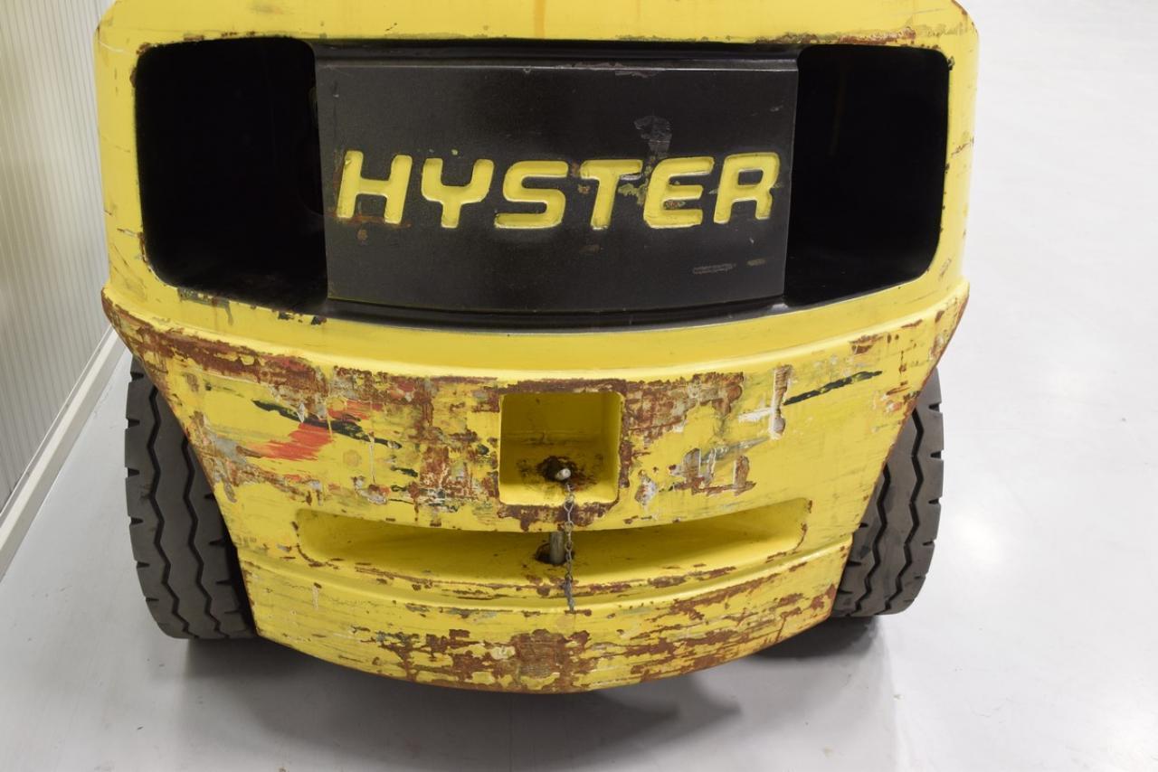 21306 HYSTER H 4.00 XMS-6 - LPG, 2002, polokabina