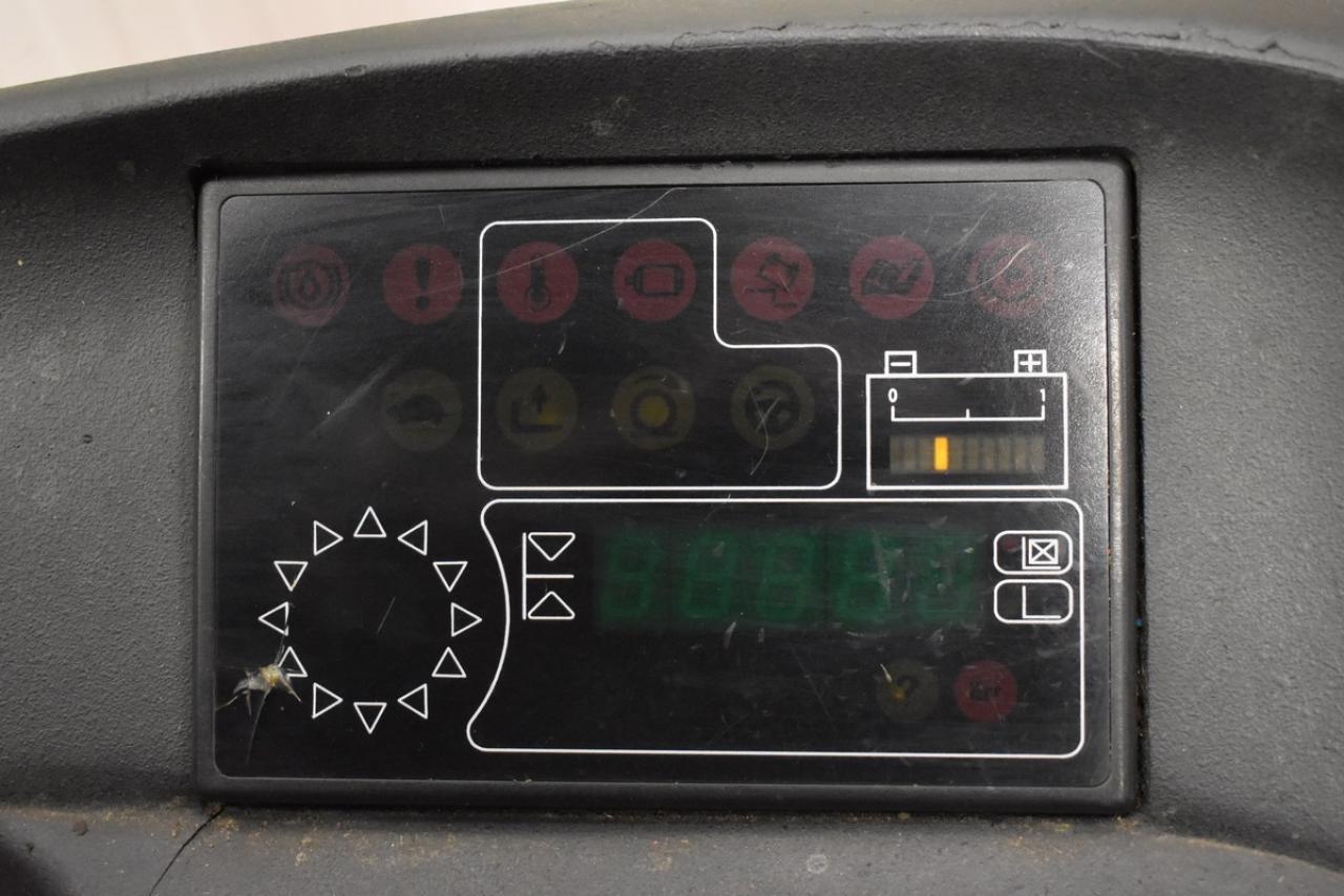 23513 LINDE R 16 SHD-12 - AKU, Retrak, 2011, BP, volný zdvih, Triplex