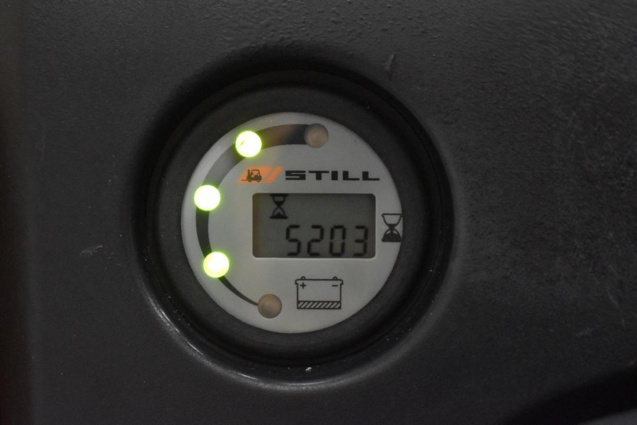 23638 STILL EGV 16 - AKU, 2010, volný zdvih, Triplex, pouze 5203 mth