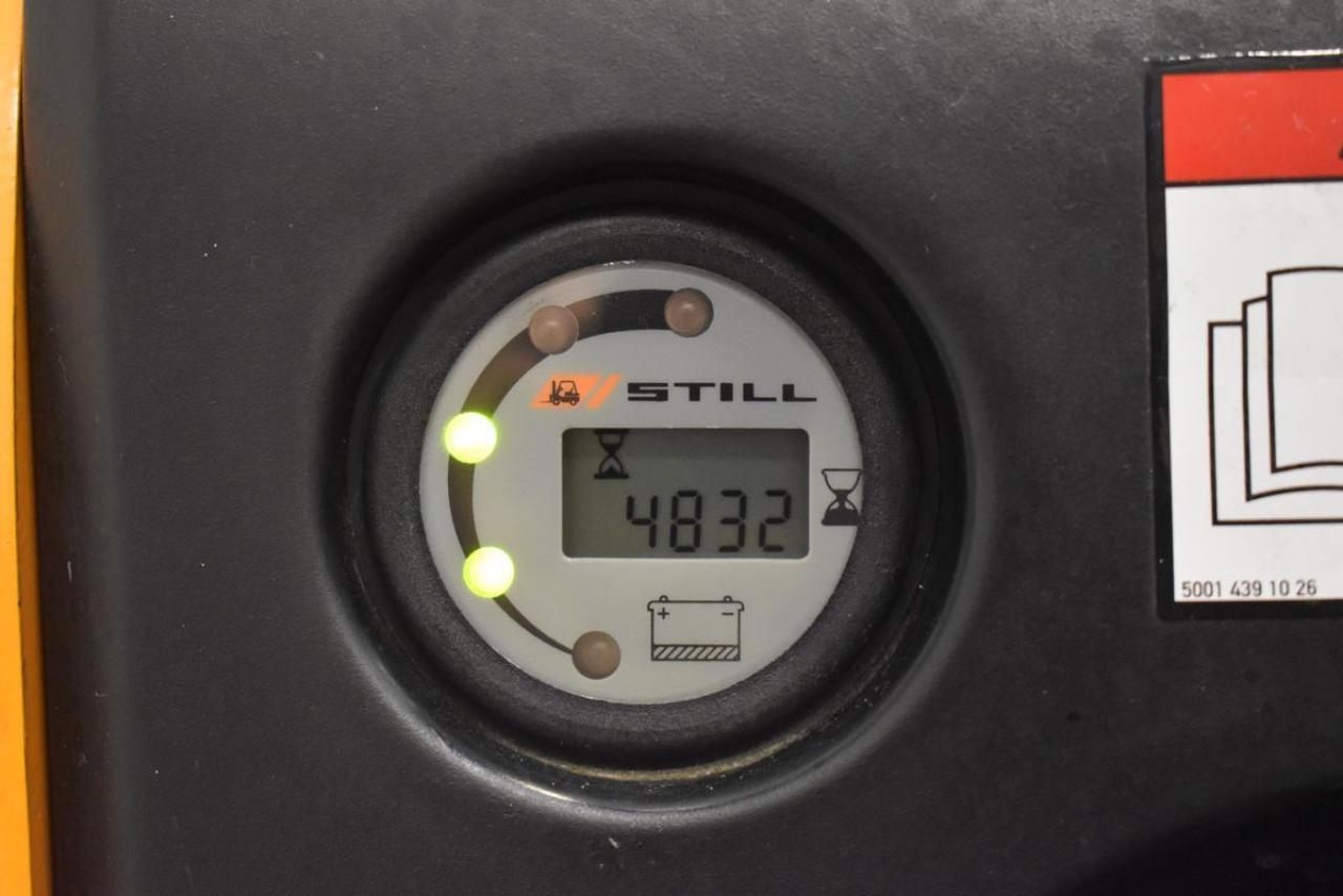 23653 STILL EGV 14 - AKU, 2010, pouze 4832 mth