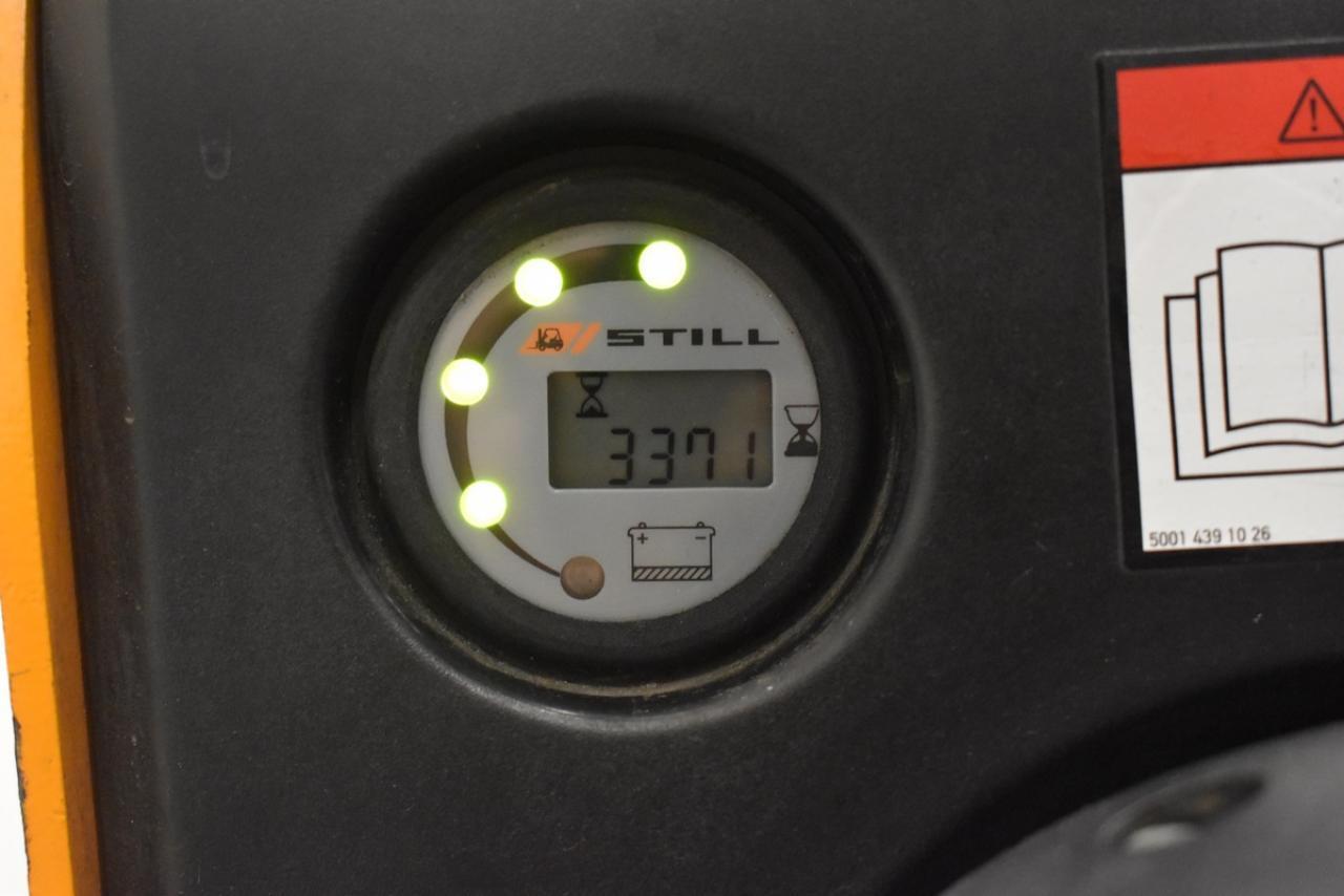 23656 STILL EGV 14 - AKU, 2010, pouze 3371 mth, BAT 2010